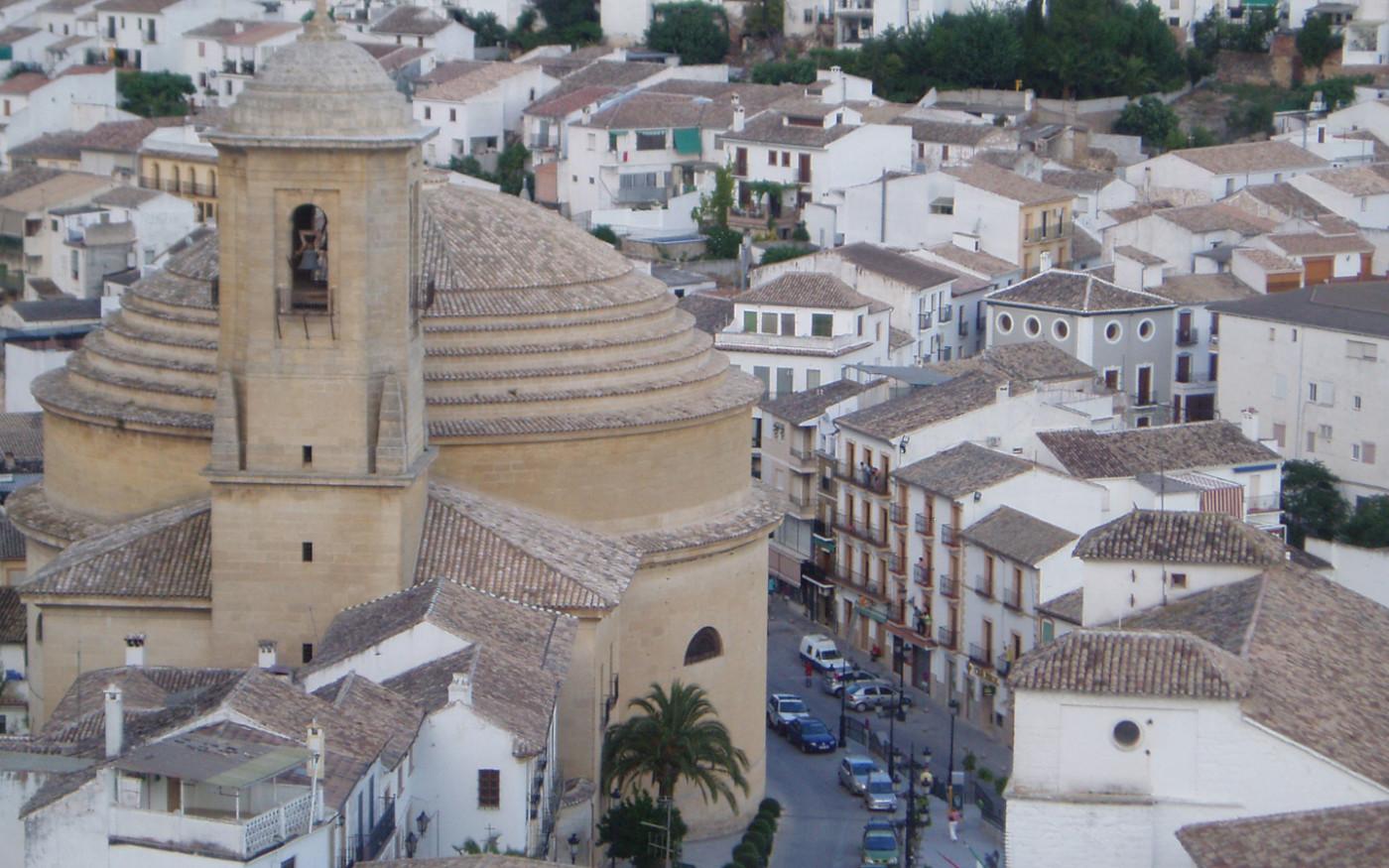iglesia_de_la_encarnacionhuerta_pequena_self catering_holiday_accommodation_Montefrio_www.rural-andalucia.com
